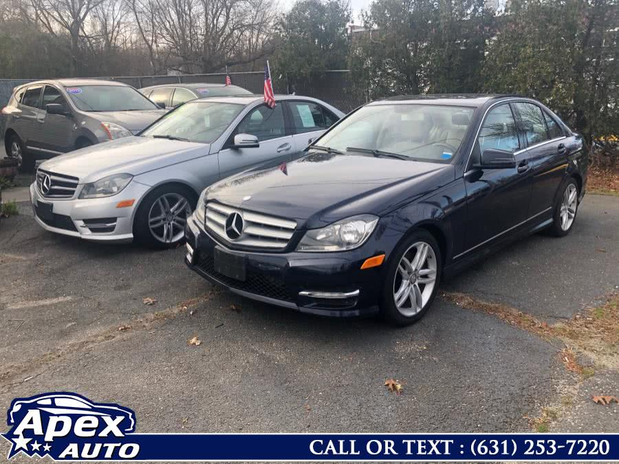 Used 2013 Mercedes-Benz C-Class in Selden, New York | Apex Auto. Selden, New York