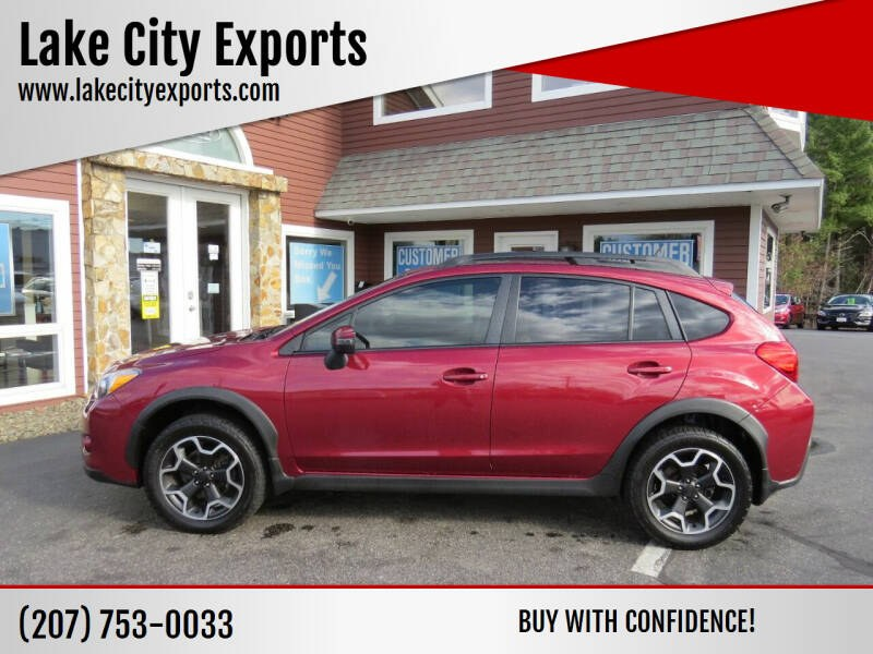 Used Subaru Xv Crosstrek 2.0i Limited AWD 4dr Crossover 2015 | Lake City Exports Inc. Auburn, Maine