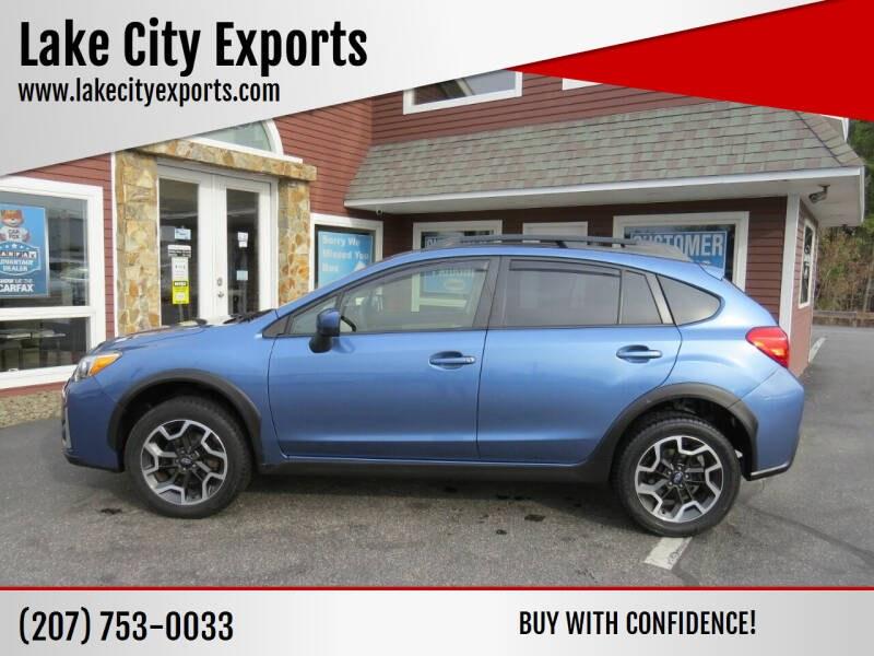 Used Subaru Crosstrek 2.0i Premium AWD 4dr Crossover CVT 2017 | Lake City Exports Inc. Auburn, Maine