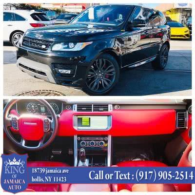Used Land Rover Range Rover Sport V6 Supercharged HSE Dynamic 2017 | King of Jamaica Auto Inc. Hollis, New York