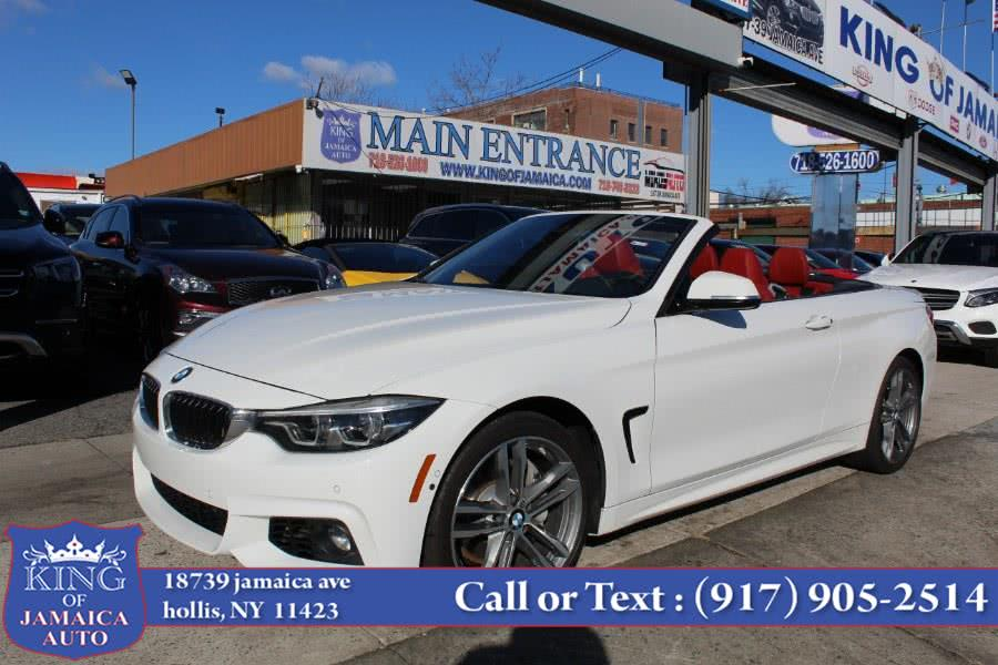 Used BMW 4 Series 440i xDrive Convertible 2018 | King of Jamaica Auto Inc. Hollis, New York