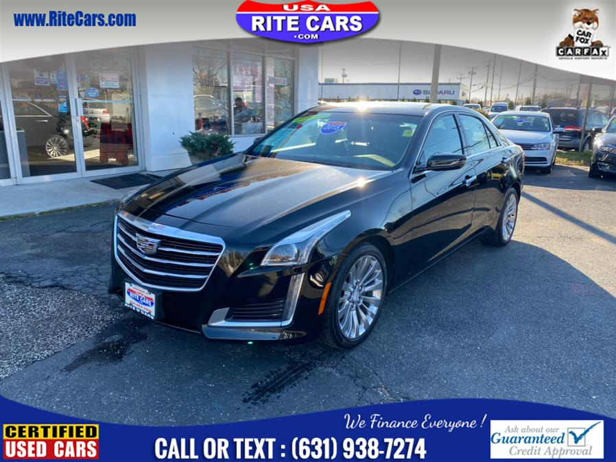 Used Cadillac CTS Sedan 4dr Sdn 2.0L Turbo Luxury AWD 2015 | Rite Cars, Inc. Lindenhurst, New York