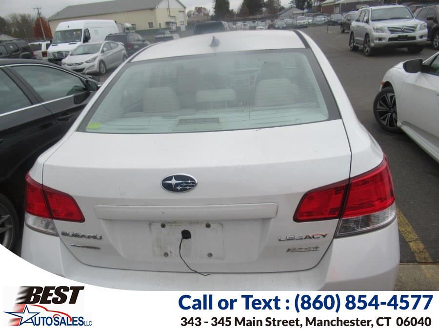 Used Subaru Legacy 4dr Sdn H4 Auto 2.5i Limited 2012 | Best Auto Sales LLC. Manchester, Connecticut