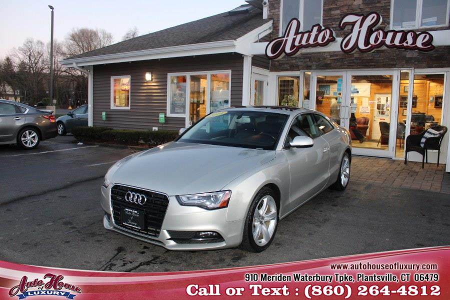 Used Audi A5 2dr Cpe Auto quattro 2.0T Premium Plus 2014 | Auto House of Luxury. Plantsville, Connecticut