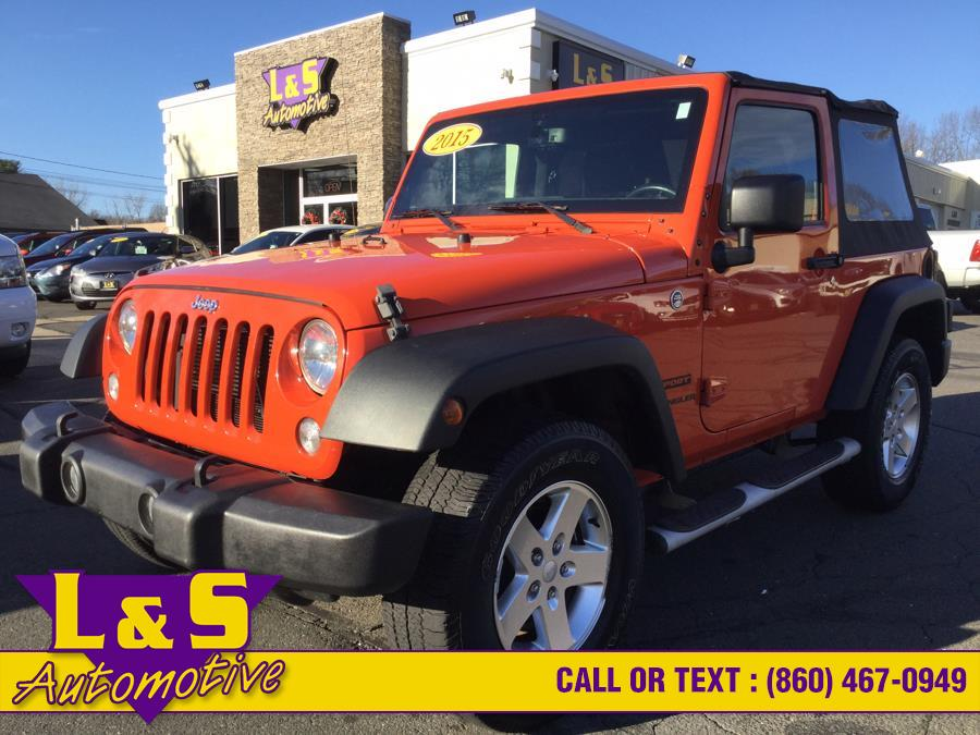 Used 2015 Jeep Wrangler in Plantsville, Connecticut | L&S Automotive LLC. Plantsville, Connecticut