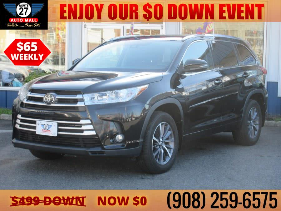 Used 2017 Toyota Highlander in Linden, New Jersey | Route 27 Auto Mall. Linden, New Jersey