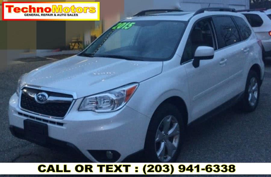 Used 2015 Subaru Forester in Danbury , Connecticut | Techno Motors . Danbury , Connecticut