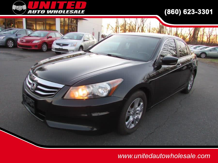 Used 2012 Honda Accord Sdn in East Windsor, Connecticut | United Auto Sales of E Windsor, Inc. East Windsor, Connecticut