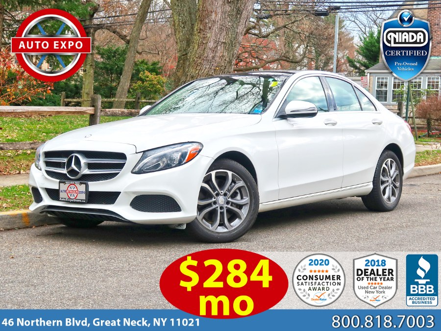 Used 2017 Mercedes-benz C-class in Great Neck, New York   Auto Expo Ent Inc.. Great Neck, New York
