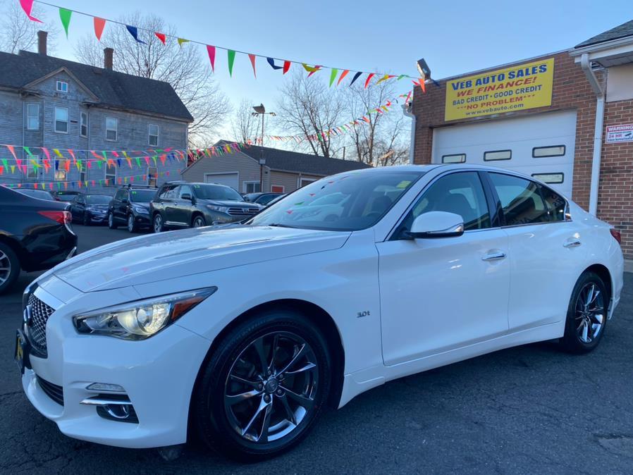 Used INFINITI Q50 3.0t Signature Edition AWD 2017 | VEB Auto Sales. Hartford, Connecticut