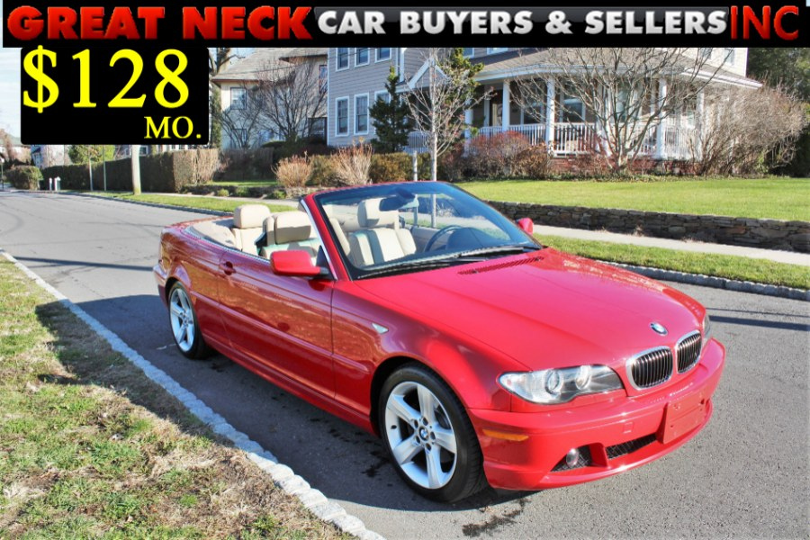 2006 BMW 3 Series 325Ci 2dr Convertible, available for sale in Great Neck, NY