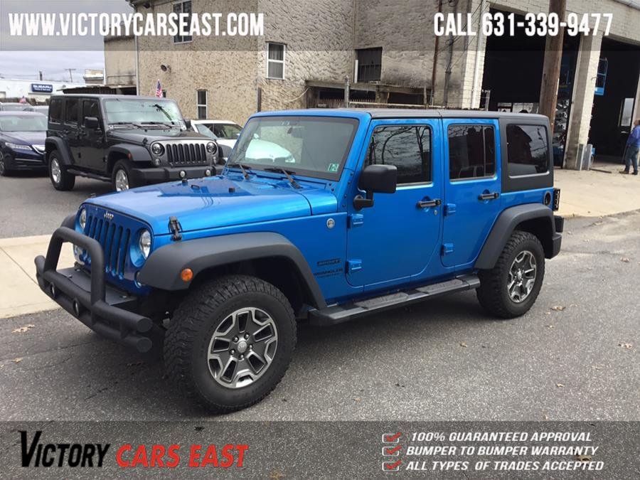 Used Jeep Wrangler Unlimited 4WD 4dr Sport 2015   Victory Cars East LLC. Huntington, New York