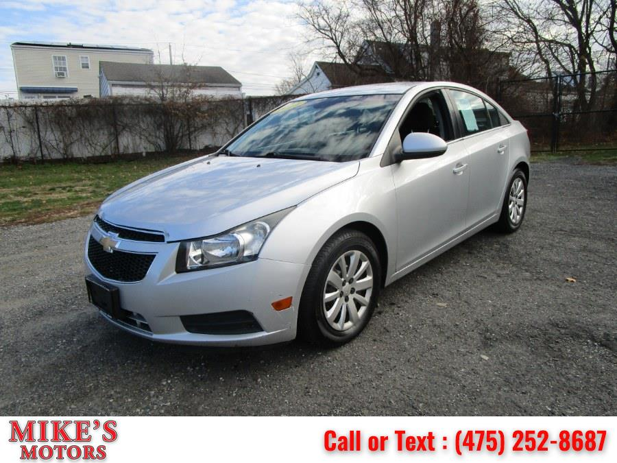 Used Chevrolet Cruze 4dr Sdn LT w/1LT 2011 | Mike's Motors LLC. Stratford, Connecticut