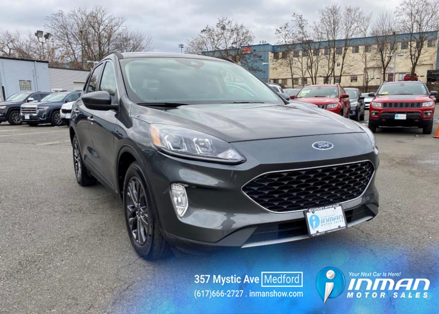 Used 2020 Ford Escape in Medford, Massachusetts | Inman Motors Sales. Medford, Massachusetts