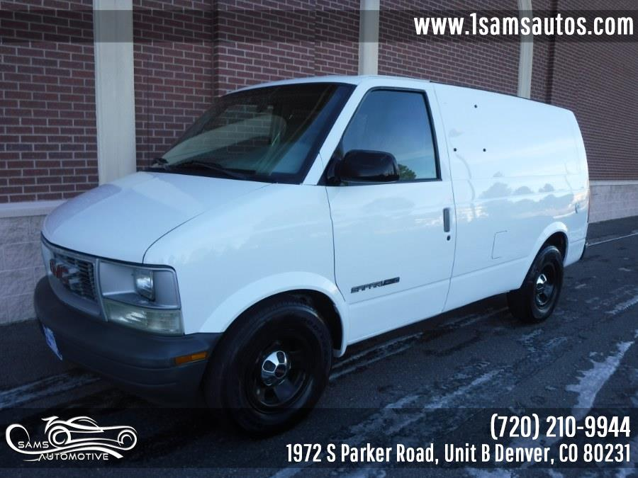 Used 2001 GMC Safari Cargo Van in Denver, Colorado | Sam's Automotive. Denver, Colorado