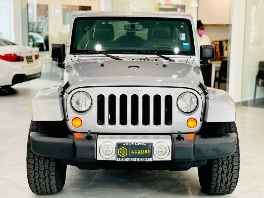 Used Jeep Wrangler Unlimited 4WD 4dr Sahara 2013 | Luxury Motor Club. Franklin Square, New York