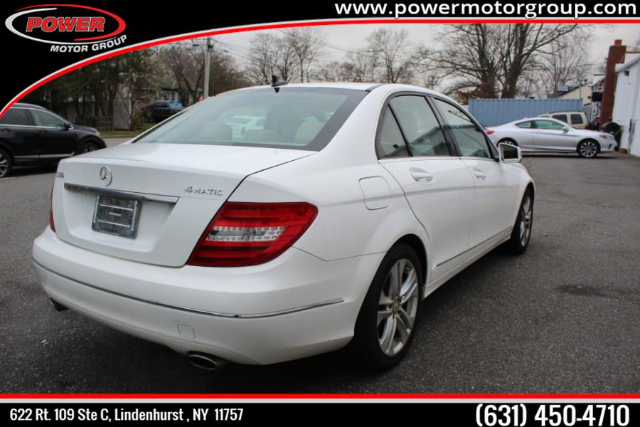 Used Mercedes-Benz C-Class 4dr Sdn C300 Sport 4MATIC 2013 | Power Motor Group. Lindenhurst , New York