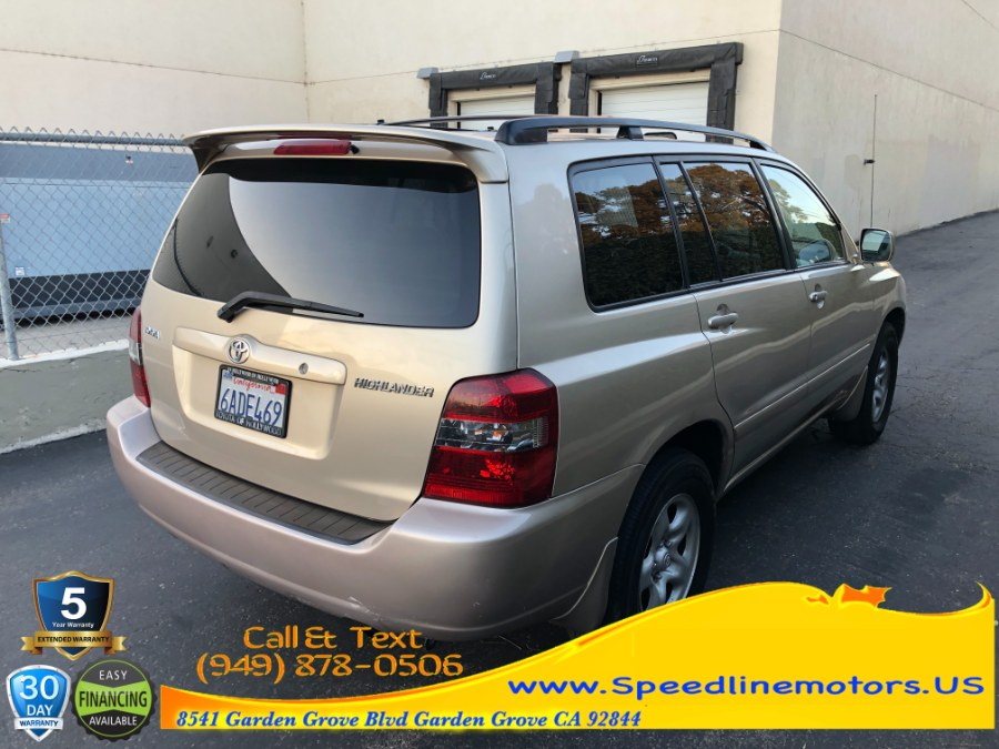 Used Toyota Highlander 2WD 4dr 4-Cyl (Natl) 2007 | Speedline Motors. Garden Grove, California