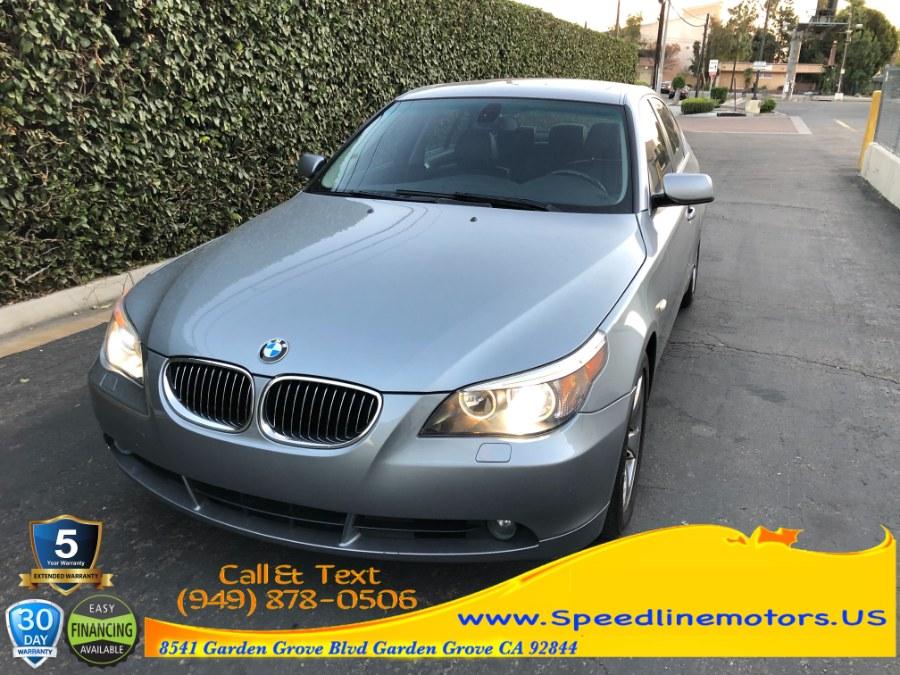 Used BMW 5 Series 4dr Sdn 525i RWD 2007 | Speedline Motors. Garden Grove, California