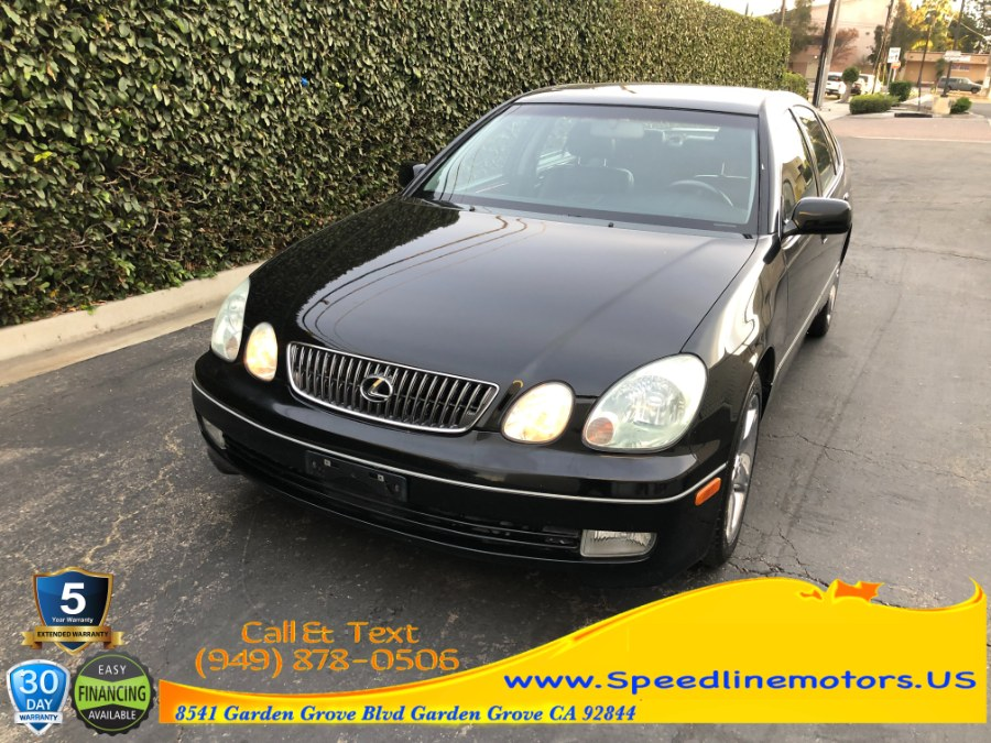 Used Lexus GS 430 4dr Sdn 2002 | Speedline Motors. Garden Grove, California