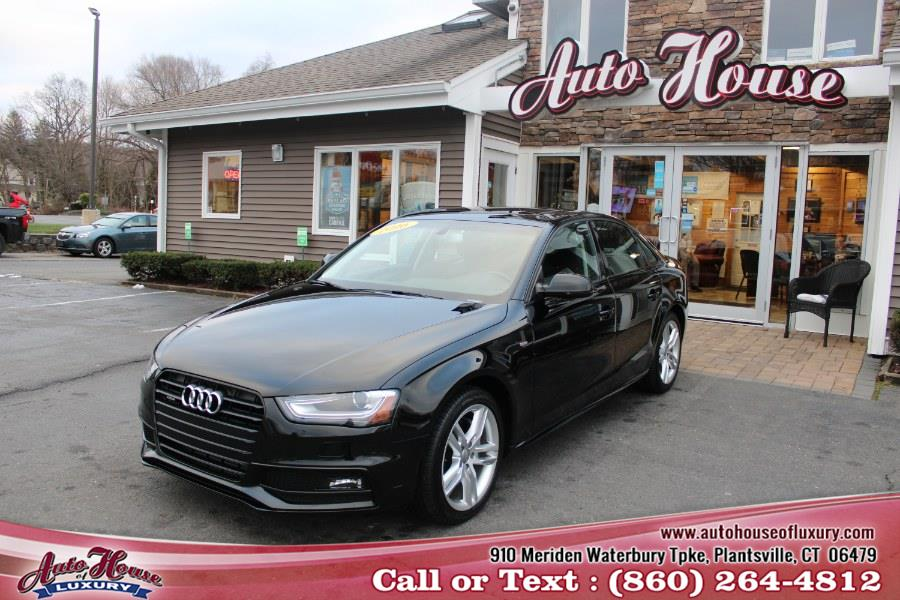 Used Audi A4 Auto quattro 2.0T Premium 2016 | Auto House of Luxury. Plantsville, Connecticut
