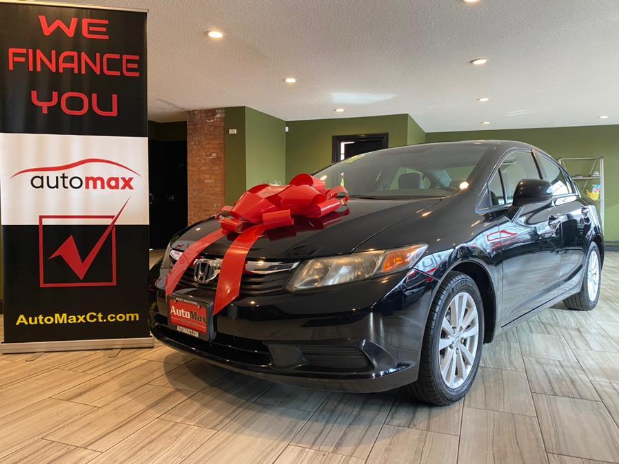 Used 2012 Honda Civic Sdn EX in West Hartford, Connecticut | AutoMax. West Hartford, Connecticut