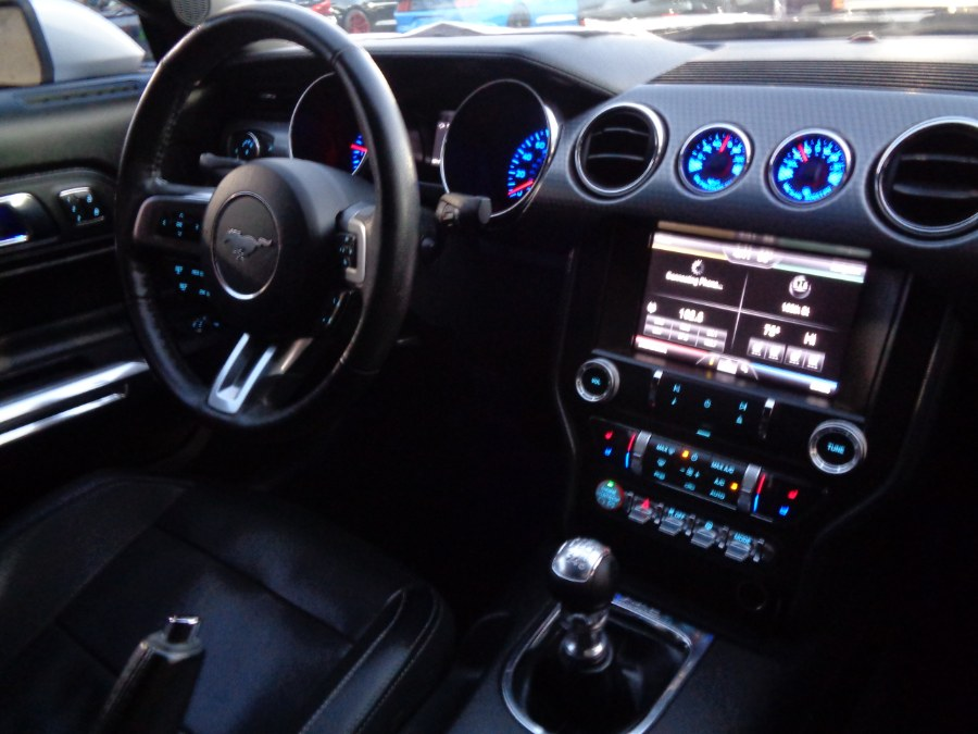 Used Ford Mustang Ecoboost Premium Performance Package Technology W/Navigation Manual 2015 | Top Speed Motors LLC. Jamaica, New York