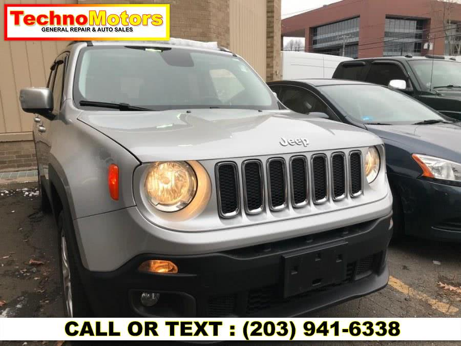 Used Jeep Renegade 4WD 4dr Limited 2016 | Techno Motors . Danbury , Connecticut