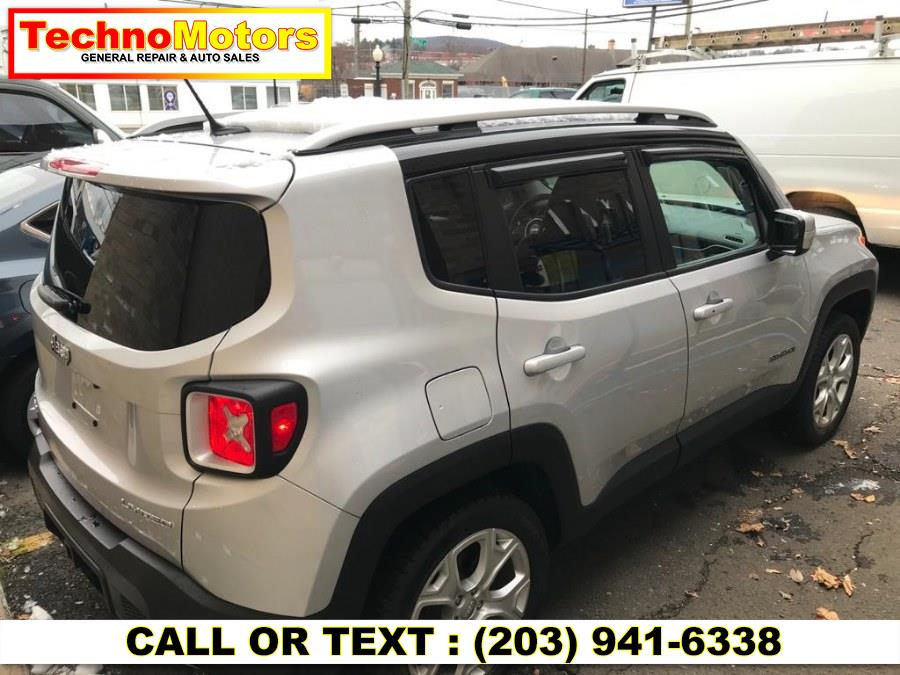 Used Jeep Renegade 4WD 4dr Limited 2016   Techno Motors . Danbury , Connecticut