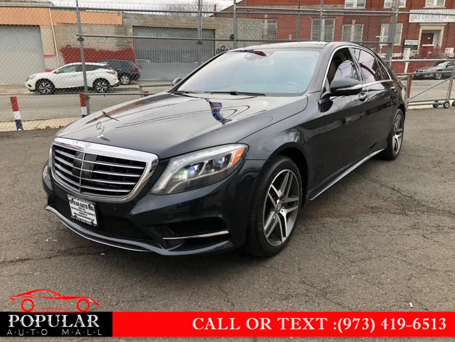 Used Mercedes-Benz S-Class 4dr Sdn S550 4MATIC 2015 | Popular Auto Mall Inc . Newark , New Jersey