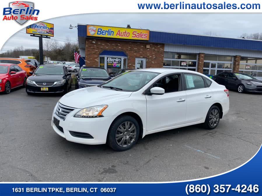 Used 2013 Nissan Sentra in Berlin, Connecticut | Berlin Auto Sales LLC. Berlin, Connecticut