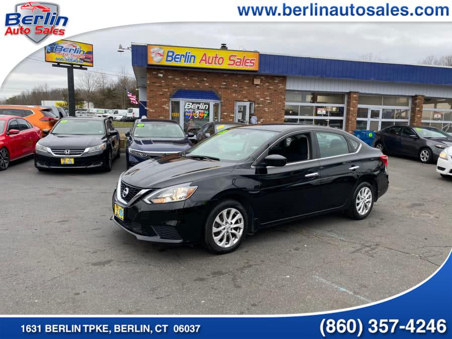 Used Nissan Sentra S CVT 2018 | Berlin Auto Sales LLC. Berlin, Connecticut
