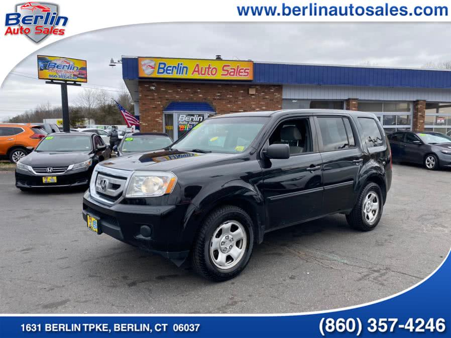 Used Honda Pilot 4WD 4dr LX 2011 | Berlin Auto Sales LLC. Berlin, Connecticut