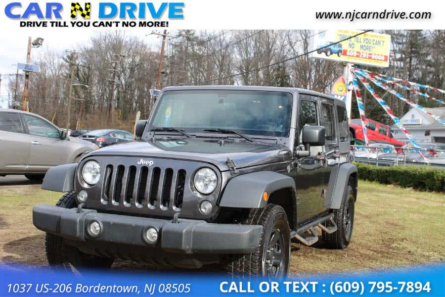 Used 2016 Jeep Wrangler in Bordentown, New Jersey | Car N Drive. Bordentown, New Jersey