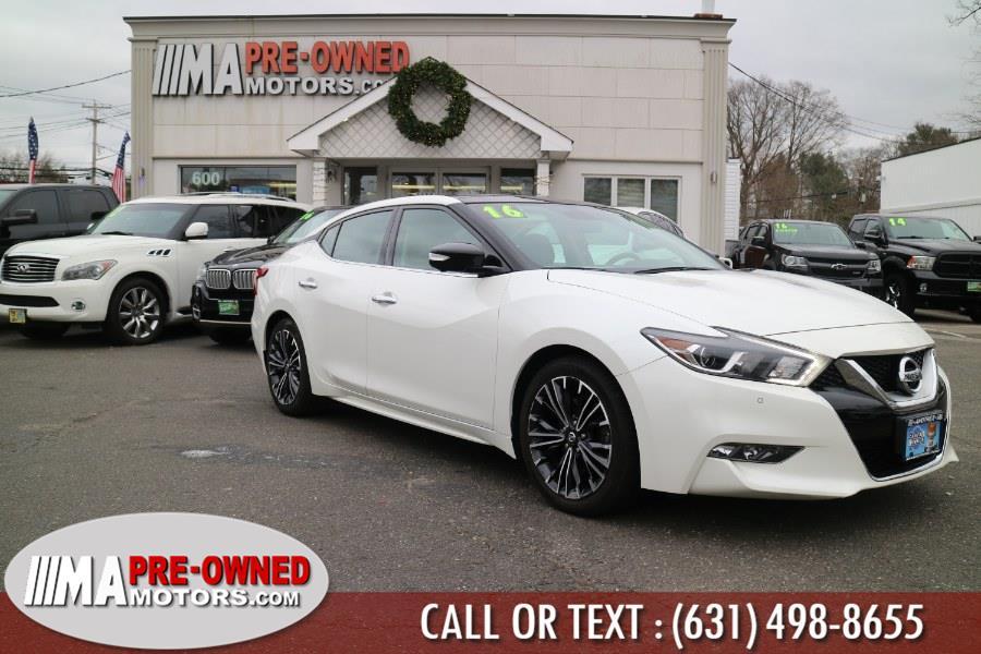 Used 2016 Nissan Maxima in Huntington, New York | M & A Motors. Huntington, New York