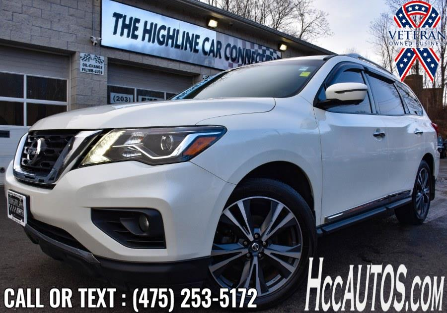 Used 2017 Nissan Pathfinder in Waterbury, Connecticut | Highline Car Connection. Waterbury, Connecticut