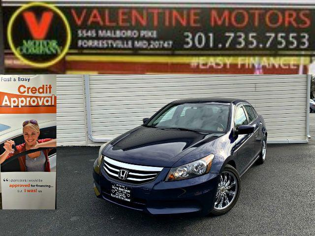 Used 2012 Honda Accord Sdn in Forestville, Maryland | Valentine Motor Company. Forestville, Maryland