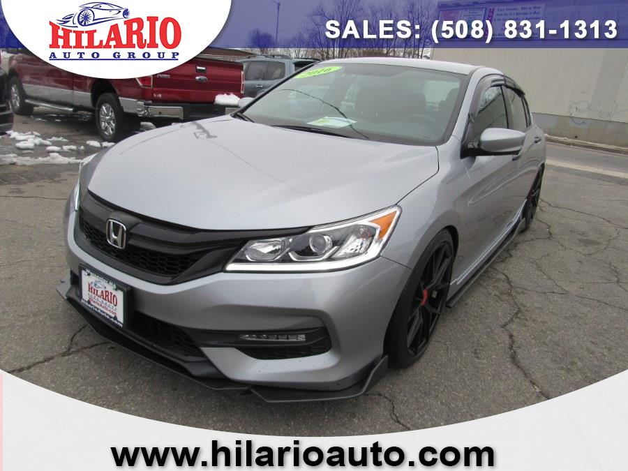 Used 2016 Honda Accord Sdn in Worcester, Massachusetts | Hilario's Auto Sales Inc.. Worcester, Massachusetts