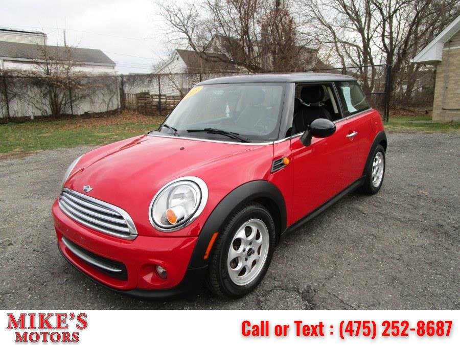 Used MINI Cooper Hardtop 2dr Cpe 2013 | Mike's Motors LLC. Stratford, Connecticut