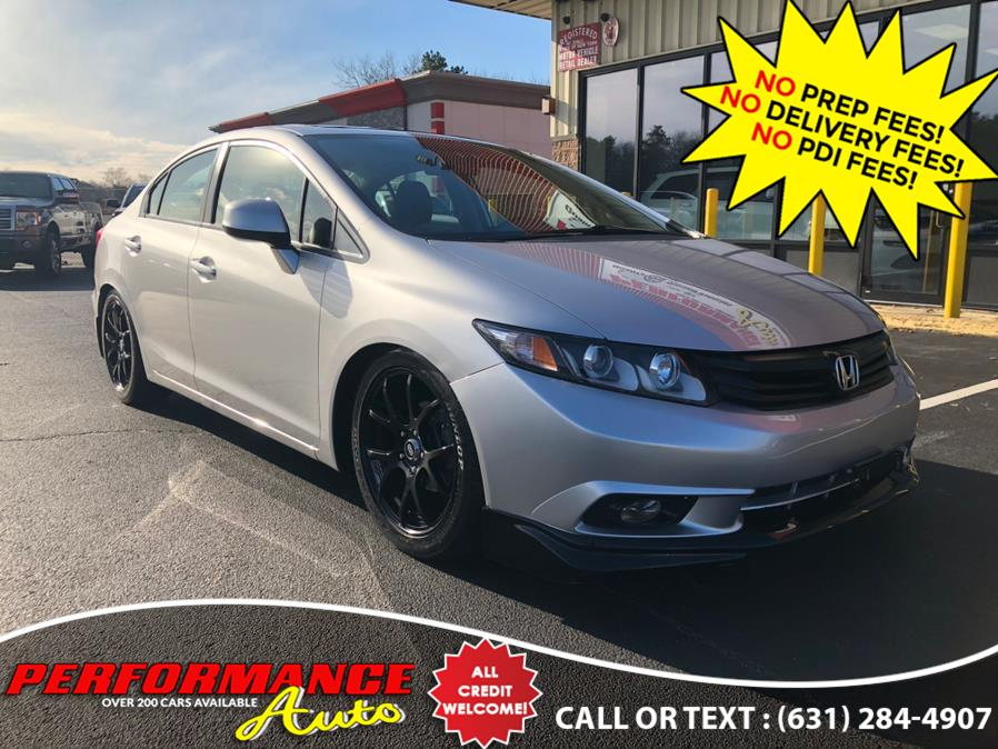 Used 2012 Honda Civic Sdn in Bohemia, New York | Performance Auto Inc. Bohemia, New York