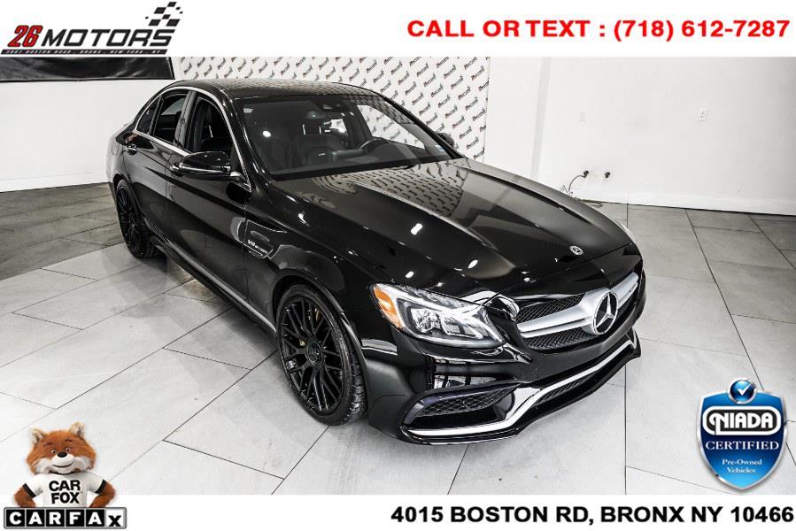 Used Mercedes-Benz C-Class AMG C 63 Sedan 2017   26 Motors Corp. Bronx, New York