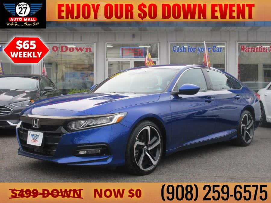 Used 2020 Honda Accord Sedan in Linden, New Jersey | Route 27 Auto Mall. Linden, New Jersey