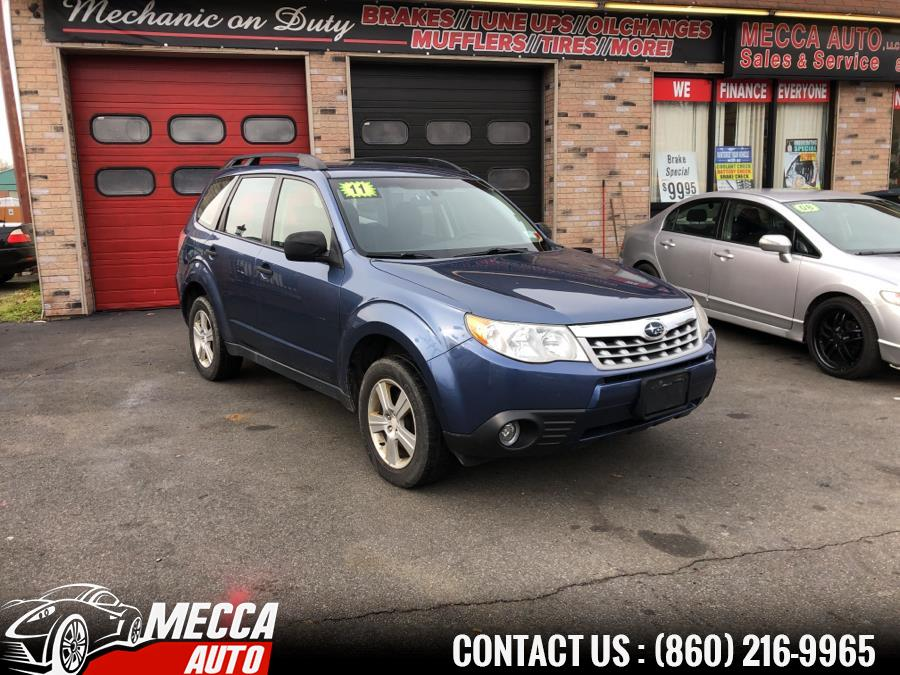 Used 2011 Subaru Forester in Hartford, Connecticut | Mecca Auto LLC. Hartford, Connecticut