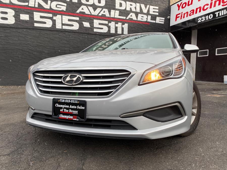 Used Hyundai Sonata SE 2.4L 2017   Champion Auto Sales Of The Bronx. Bronx, New York