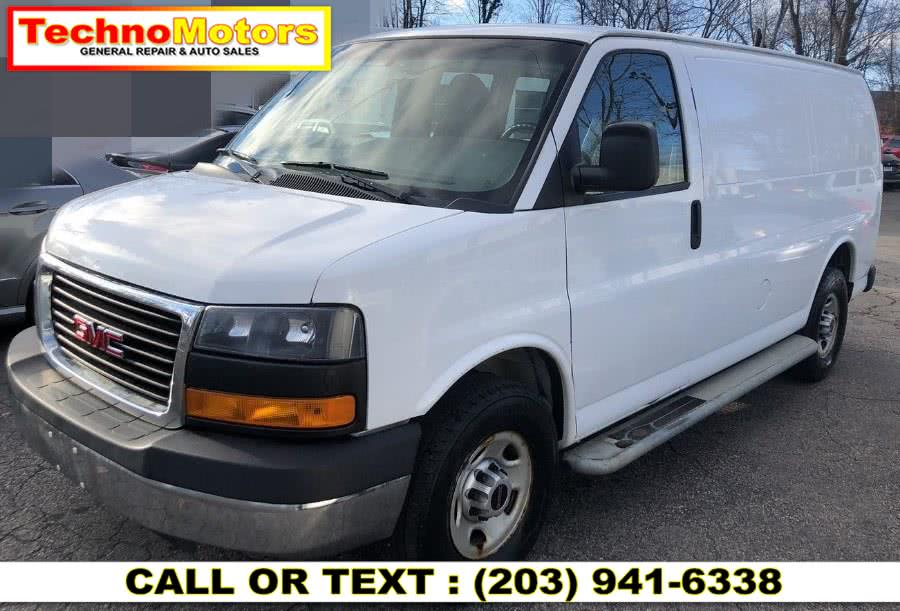 Used 2015 GMC Savana Cargo Van in Danbury , Connecticut | Techno Motors . Danbury , Connecticut