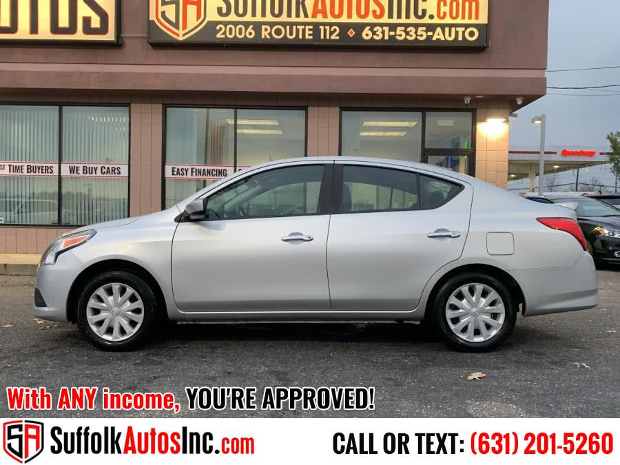 Used 2019 Nissan Versa Sedan in Medford, New York | Suffolk Autos Inc. Medford, New York