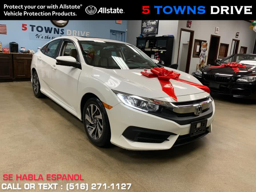 Used Honda Civic Sedan EX CVT 2017 | 5 Towns Drive. Inwood, New York
