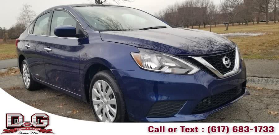 Used Nissan Sentra SV CVT *Ltd Avail* 2019   D&G Auto. Allston,, Massachusetts
