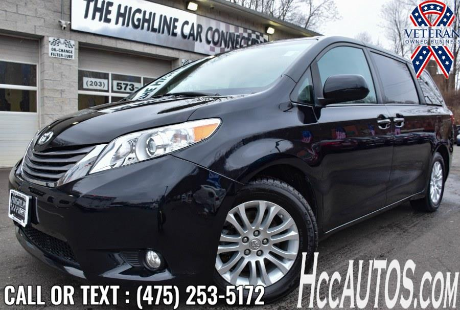 Used Toyota Sienna XLE Premium FWD 8-Passenger 2017 | Highline Car Connection. Waterbury, Connecticut