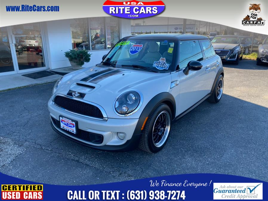 Used MINI Cooper Hardtop 2dr Cpe S 2013 | Rite Cars, Inc. Lindenhurst, New York